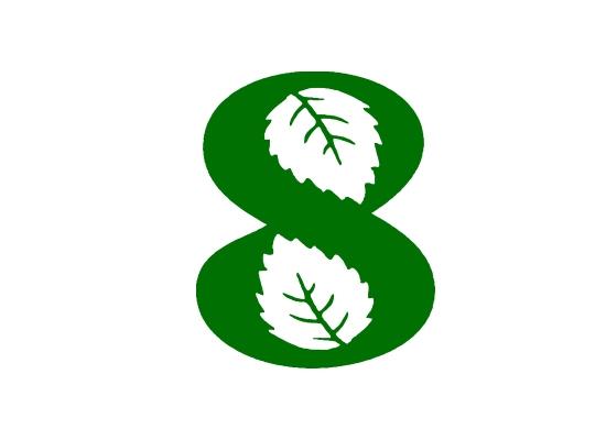 8叶子图形