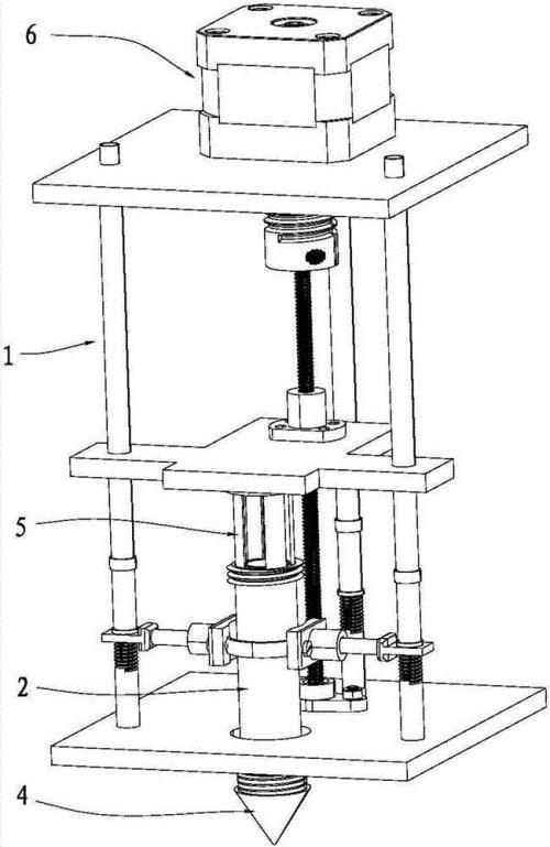 同轴3D打印机喷头及其工作方法