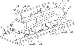 高温携汽超稠油段塞流捕集处理一体化装置